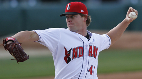Rudy Owens has a 2.84 ERA and 13 strikeouts without a walk in 19 innings this season.