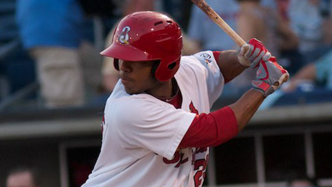 Oscar Taveras led the Texas League with a .321 average this year.
